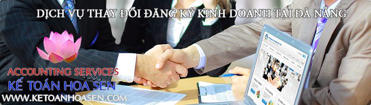 Dịch vụ thay đổi đăng ký kinh doanh tại Đà Nẵng