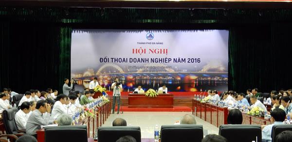 Lãnh đạo Đà Nẵng đối thoại với cộng đồng doanh nghiệp