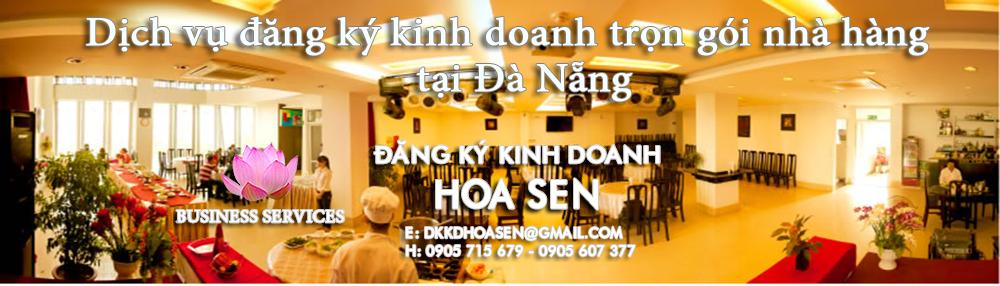Dịch vụ đăng ký kinh doanh trọn gói nhà hàng tại Đà Nẵng